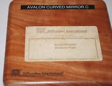 Diffraction International Model M1206R Reducer Plate  Avalon CMC