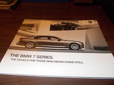 2010 BMW 7-Series 80-Page Deluxe Sales Catalog