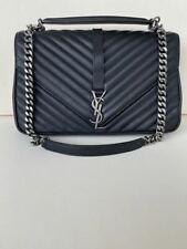 Original Yves Saint Laurent Tasche Bag College Large mit Rechnung, Totebag