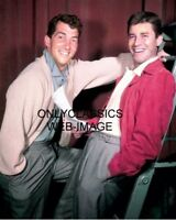 1952 JERRY LEWIS SINGER DEAN MARTIN COMEDY ICON ACTOR FUNNY MAN 8X10 COLOR PHOTO