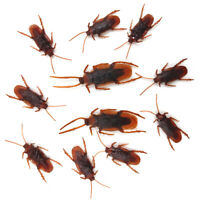 40x Halloween Fake Cockroach Simulation Insect Tricky Toy Party Prop Supplies
