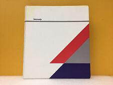 Tektronix 070-9383-01 TDS 500B, TDS 600B + TDS 700A Oscilloscopes User's Manual