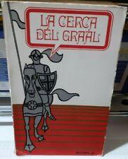 LIBRO 1969,LA CERCA DEL SANTO GRAAL lancillotto,parsifal,galaad,esoterismo,artù