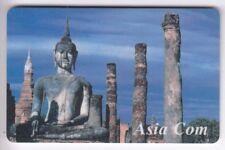 FRANCE  TELECARTE / PHONECARD  PREPAYEE .. 75U ASIACOM  ASIE ASIA BOUDHA 97 +N°