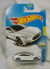 Tesla Model S 1/64 Scale diecast Model Car from Factory Fresh by Hot Wheels