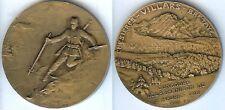 Médaille de prix - ST MAURICE 1918 2° prix concours de la garnison d=50 mm Ski