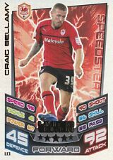 Craig Bellamy LE1 Limited Edition Card Match Attax 2012/2013 Championship 12 13