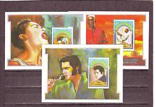 GAMBIA - SGMS1279 MNH 1992 FAMOUS BLUES SINGERS