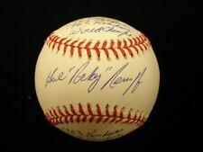 Hal Reniff Autographed Official American League Baseball - PSA