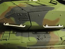 HL Bundeswehr Leopard 2A6  Turm Handlauf Metall Umbau Kit RC Panzer Zubehör 1/16