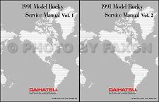 Best Shop Manual for 1991 Daihatsu Rocky 91 Repair Service Book