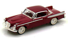 Yatming 1958 Studebaker Golden Hawk Claret Hard Top 1:43 Scale Diecast 94254CL