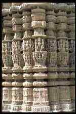 466005 Pared Sur Surya Templo Ranakpur India A4 Foto Impresión