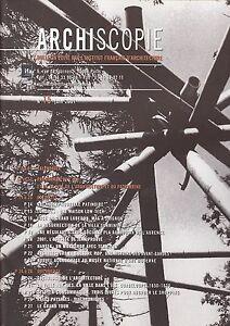 ARCHISCOPIE  JUIN 2001  N° 15