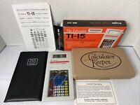 NEW Vintage The Educator TI-15 TI85 Overhead Calculator No 251