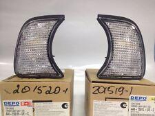 NEW BMW 5-Series E34 Corner Lights Turn Signals  PAIR 1989-1995