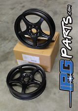 Black Lenso XPD Drag Race Wheels Rims 15x3.5 4x100 Civic Integra CRX Skinnies