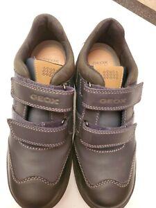 Geox Respira Shoes Size 37Breathable Antibacterial Antishock Chromium Free