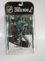 Jonathan Cheechoo San Jose Sharks McFarlane Toys NHL Series 20 Figure