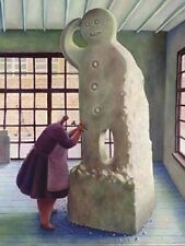 Sarah Jane Szikora The Biscuit Factory Mounted Limited Edition Print 131/295