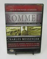 ROMMEL: CHARLES MESSENGER MP3-CD AUDIOBOOK, LEADERSHIP LESSONS, WORLD GENERALS