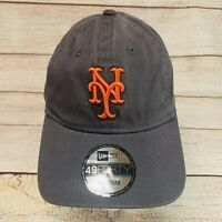 New York Mets New Era 49FOURTY Cotton Unstructured Flex Fitted Hat Cap Medium