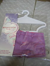 American Girl Doll CLOTHES  PURPLE PLAY SHORTS  TRULY ME NEW in PKG