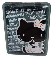Black Cat Coloured Contact Lens Lenses Travel Kit - Mirror - Case - Tweezers