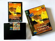 Neo Geo Samurai Shodown AES Samurai Spirits SNK Fighting Game Manual Japan JP