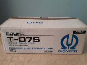 PIONEER T-07S DOLBY S IN BOX!!!