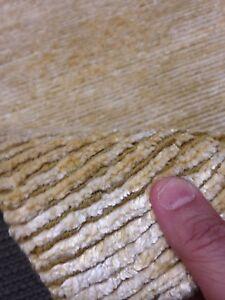 3' X 5' Spectacular Hand Knotted Tibetan Rug Silk / Wool Fine Gold Modern  Rare
