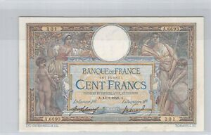 100 Francs Merson 13-1-1920 A.6693 N°167300301 Fayette 23 (12)
