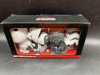 Star Wars Celebration Orlando 2017 Mini Trooper Plush Set NEW
