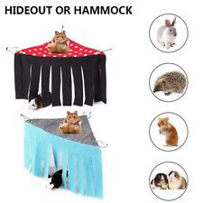 New listing Hanging Bed Hideaway Hammock Hideout Ferret Tassel Corner Guinea Pig Pet Tent