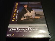 "RARE! DVD ""LA NUIT DES OLIVIERS d'apres E-E. SCHMITT"" Frederic QUIRING / theatre"