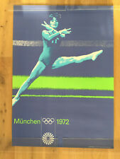 Plakat / Poster DIN A1 TURNEN Olympische Spiele München 1972 Olympiade