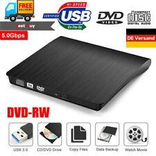 Neu Externes DVD Laufwerk USB 3.0 Brenner Slim CD DVD-RW Brenner für PC Laptop