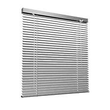 Alu Jalousie Aluminium Jalousien ohne Bohren Klemm Fenster Tür 90x130cm silber