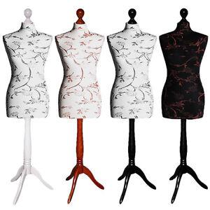 Manichino Decorato Taglia 34/36/38/40/42/44/46/48 Vestito Forma Busto Sartoriale