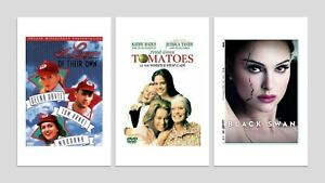 DVD Pack - A League of their Own, Black Swan, Fried Green Tomatoes