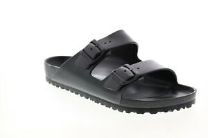 Birkenstock Arizona EVA 129421 Mens Black Synthetic Flip-Flops Sandals Shoes 8