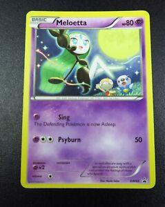 BW68 Meloetta Black Star Promo Pokemon Trading Card REF#BE