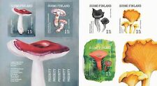 Finland 2016 MNH Booklet - Edible Finnish Forest Mushrooms - Issued Sept 9, 2016