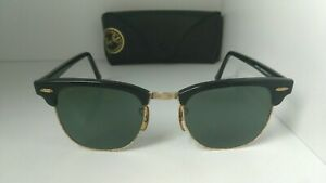 Vintage Ray Ban B&L sunglasses W0365 Clubmaster *Used