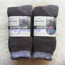 6-pairs Heavy Duty Australian Merino Extra Thick Work Socks Size 11-14