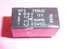 Relais  Alcatel Swiss MT2 DC 12 Volt   2x UM