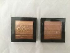 Sealed Seventeen Shimmer Illuminating Palette Brick Gold Bronze Bronzer