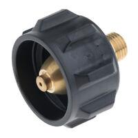QCC1 Propane Regulator Adapter Propane Regulator Adjustable 1/4'' Black