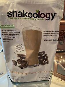 Shakeology COOKIES & VEGAN Bag Protein Shake Mix Powder 30 Serving Bag Beachbody