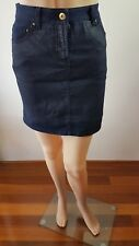 COUNTRY RD Ladies Blue Knee Length Skirt Size 8 EUC